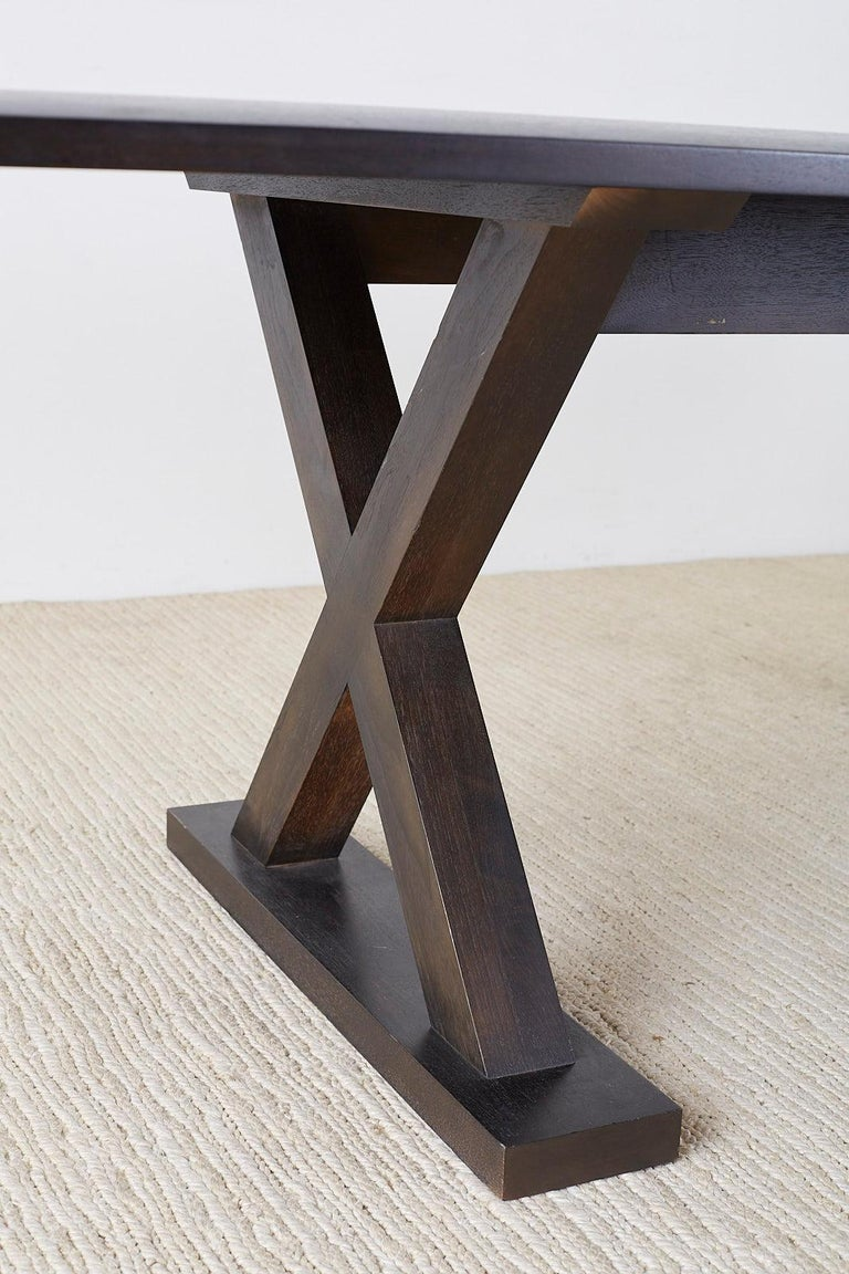 Christian Liaigre for Holly Hunt Courier Dining Table For Sale 5