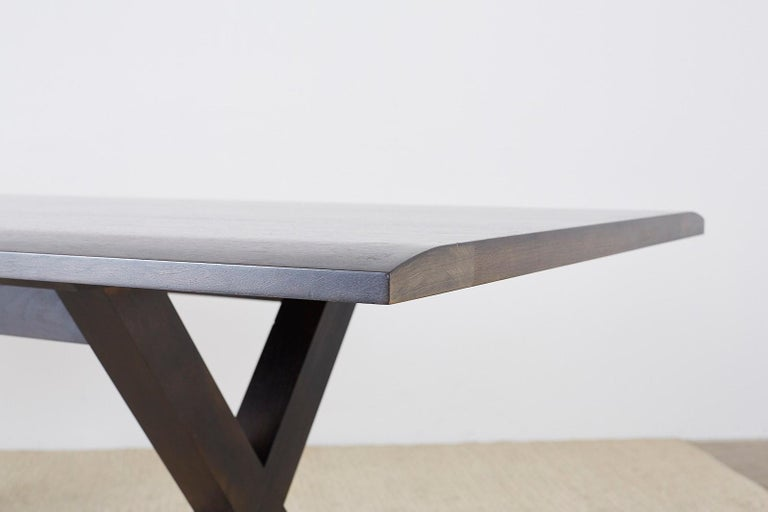 Christian Liaigre for Holly Hunt Courier Dining Table For Sale 6