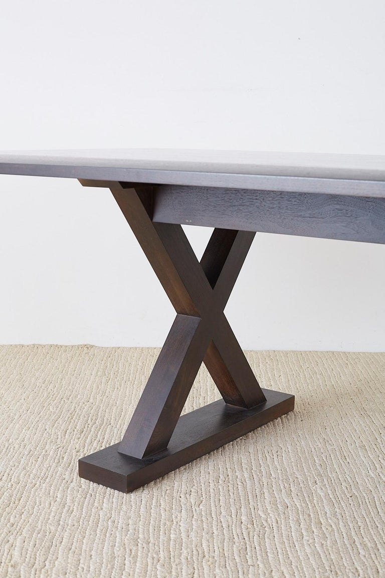 Christian Liaigre for Holly Hunt Courier Dining Table For Sale 8