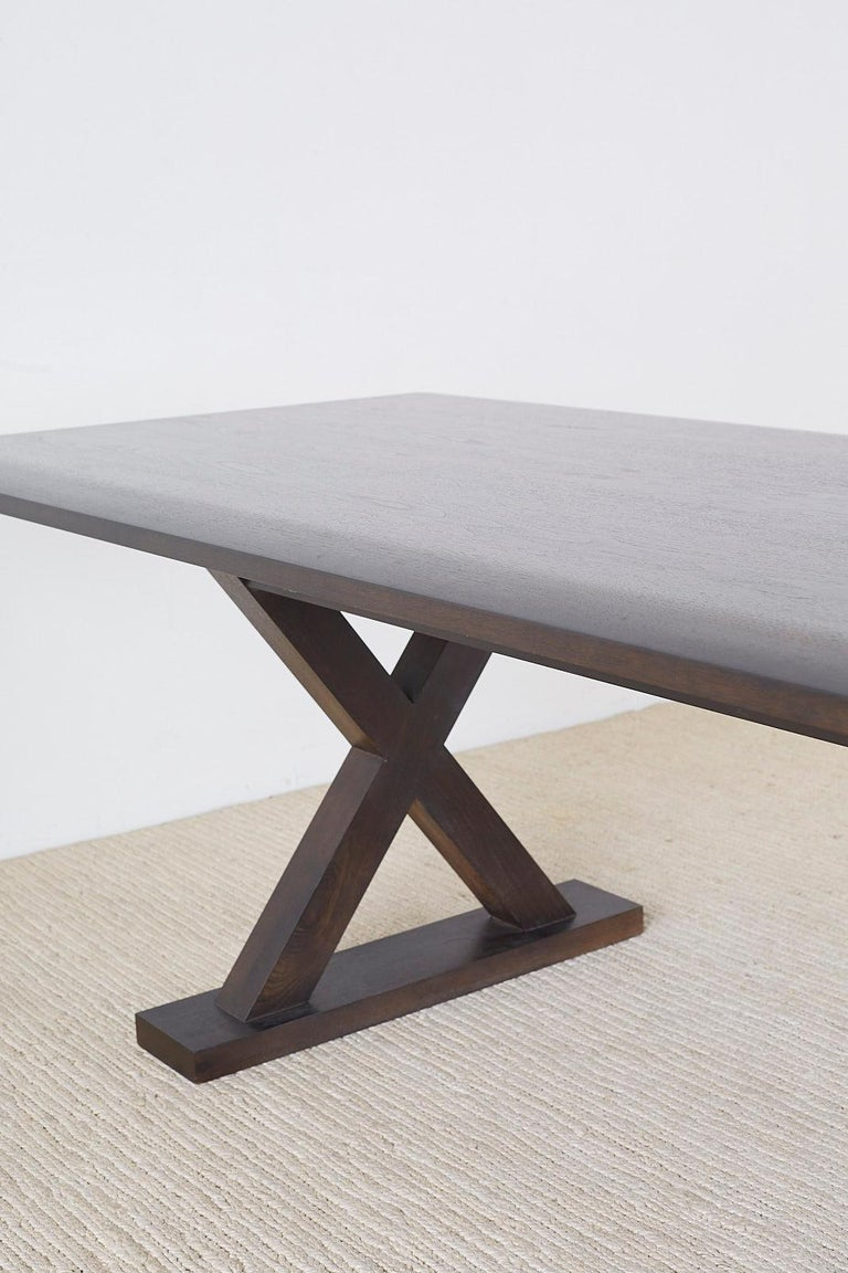 Christian Liaigre for Holly Hunt Courier Dining Table For Sale 11