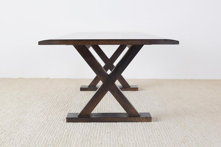 Modern Christian Liaigre for Holly Hunt Courier Dining Table For Sale