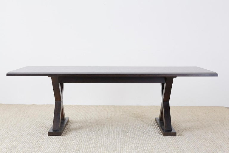Hand-Crafted Christian Liaigre for Holly Hunt Courier Dining Table For Sale