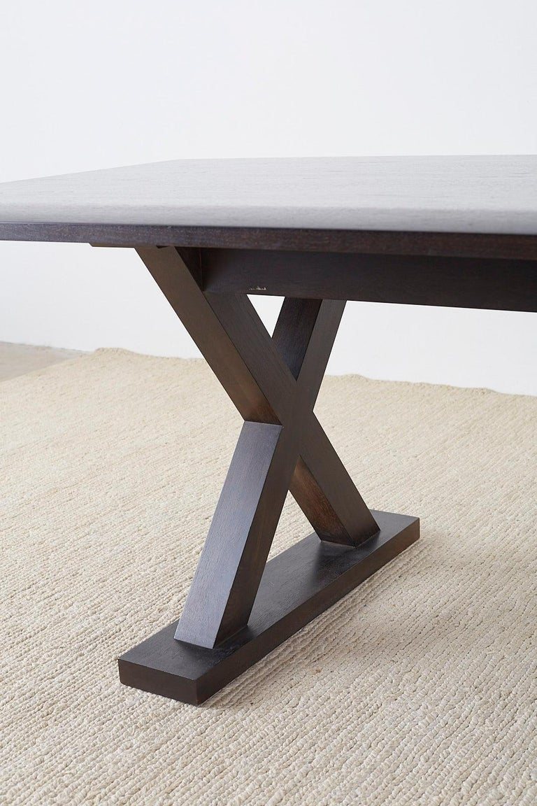 20th Century Christian Liaigre for Holly Hunt Courier Dining Table For Sale