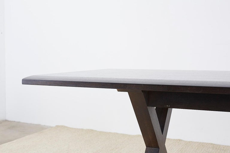 Christian Liaigre for Holly Hunt Courier Dining Table For Sale 1