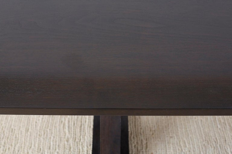 Christian Liaigre for Holly Hunt Courier Dining Table For Sale 2