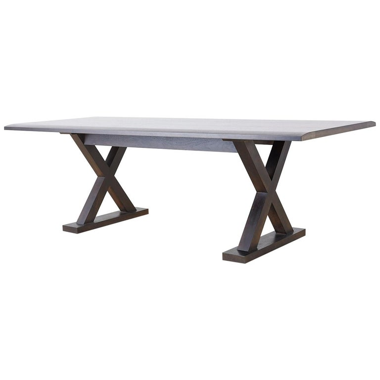 Christian Liaigre for Holly Hunt Courier Dining Table For Sale