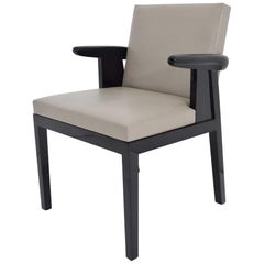 Christian Liaigre Hector Armchair in Leather