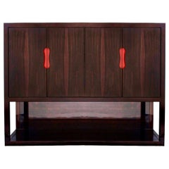 Modern Christian Liaigre Custom Macassar Ebony Cabinet, France, Holly Hunt