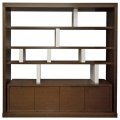 Christian Liaigre Saigon Library Bookcase / Wall Unit