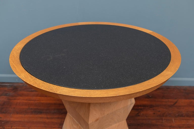 Modern Christian Liaigre Yquem Pedestal Table For Sale