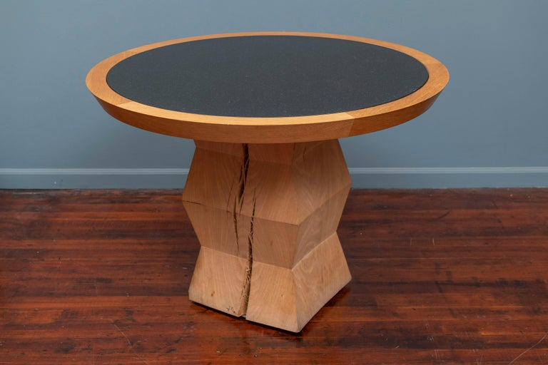 American Christian Liaigre Yquem Pedestal Table For Sale