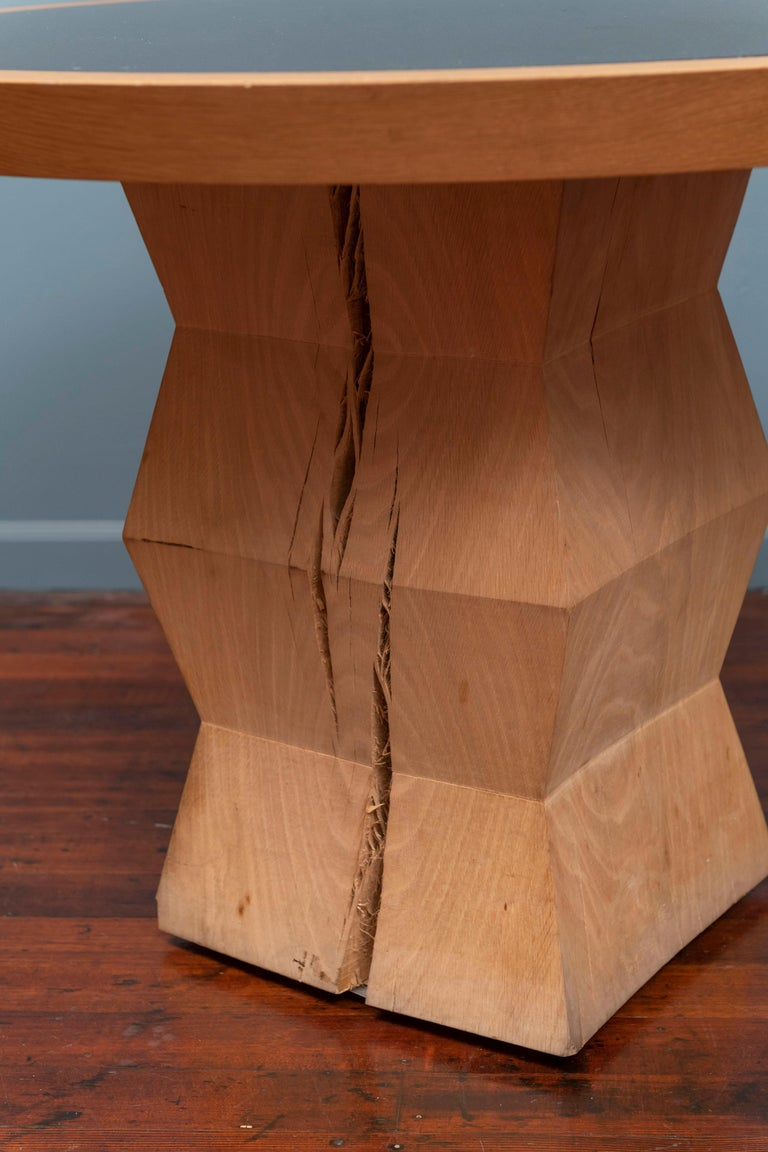Christian Liaigre Yquem Pedestal Table In Good Condition For Sale In San Francisco, CA