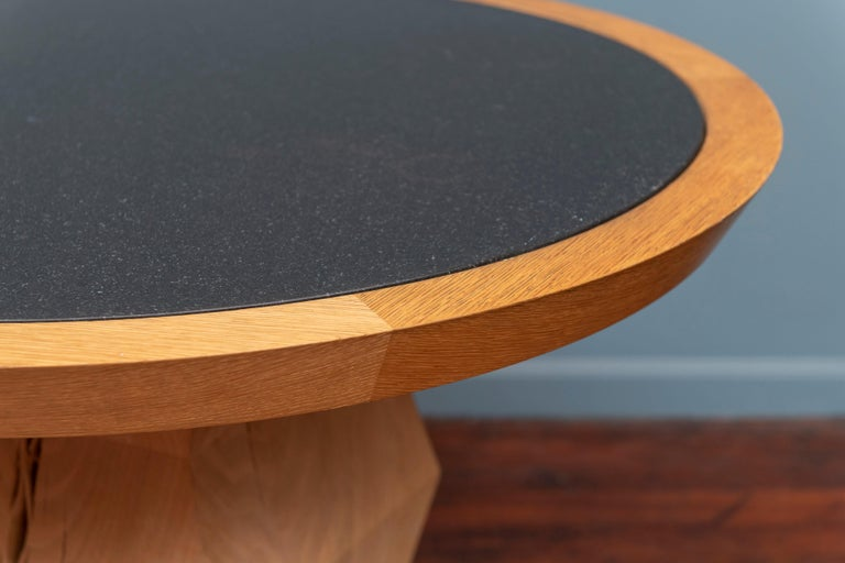 Contemporary Christian Liaigre Yquem Pedestal Table For Sale