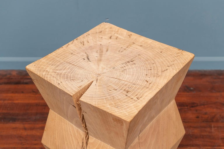 Christian Liaigre Yquem Pedestal Table For Sale 1