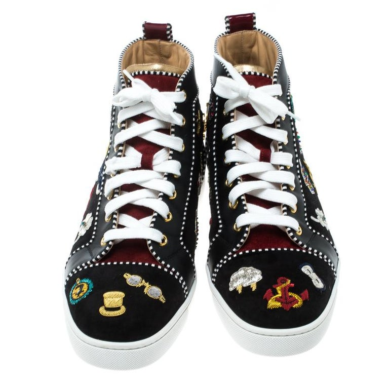 29cddb366901 These high top sneakers from Christian Louboutin are a dream you can add to  your collection