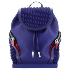 Christian Louboutin Explorafunk Backpack Spiked Leather