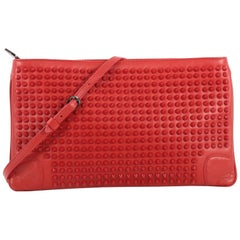 05d03585abd Christian Louboutin Pigalle Clutch Spiked Patent at 1stdibs