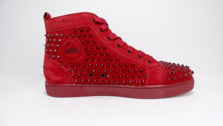 Christian Louboutin Louis Spikes Flat Sneakers For Sale 3