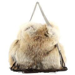 Christian Louboutin Marianna Rider Tote Fur Large