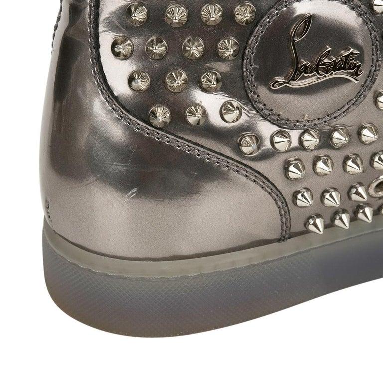 Christian Louboutin Men's Sneakers Louis Flat Antispecchio Spike 43 / 10  For Sale 5