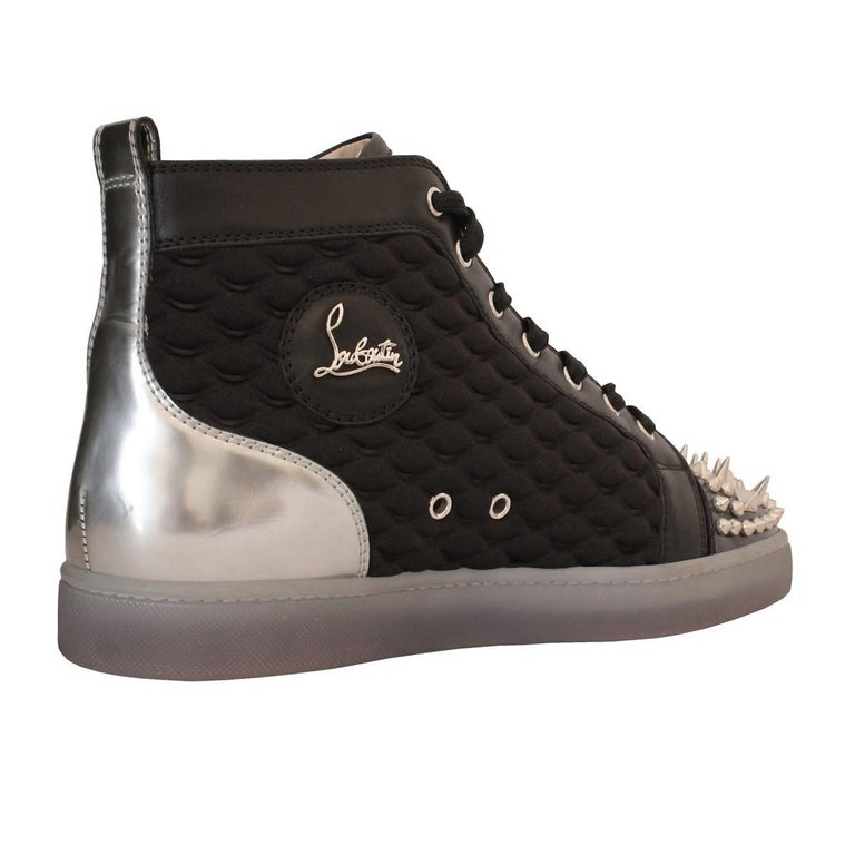 detailed look f4085 b96f8 Christian Louboutin Mens Studded Sneakers 44