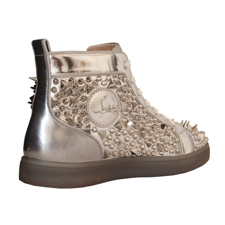 detailed look 60db8 cd041 Christian Louboutin Mens Studded Sneakers 44