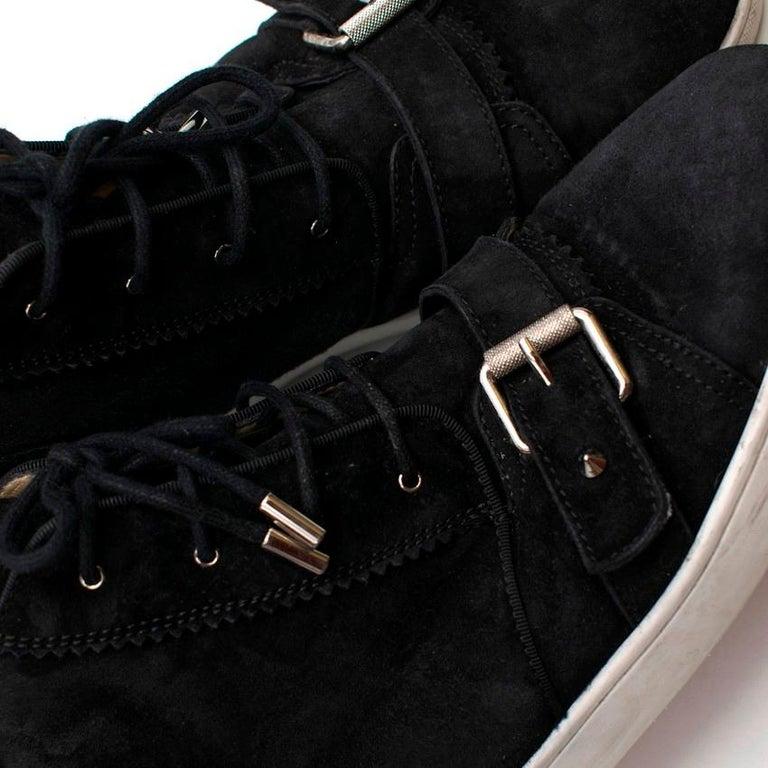Christian Louboutin Nono Strap Veau Velours Sneakers SIZE UK 43 / US 9.5 2