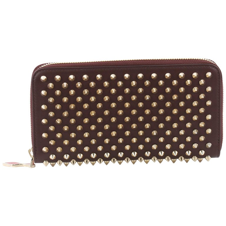 8424847ddc8 Christian Louboutin Panettone Wallet Spiked Leather