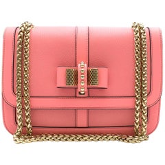 Christian Louboutin Pink Leather Sweet Charity Crossbody Bag