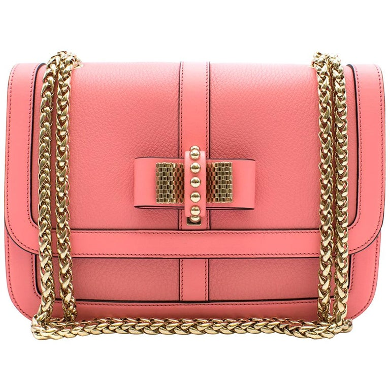 4691075d372 Christian Louboutin Pink Leather Sweet Charity Crossbody Bag