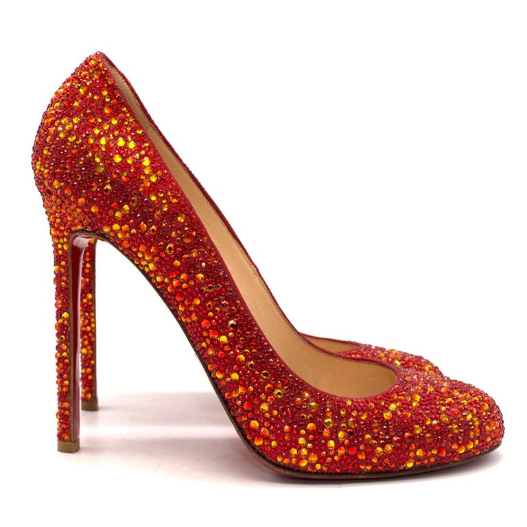 reputable site 95e41 39450 Christian Louboutin Ron Ron 120mm crystal-embellished pumps US 9