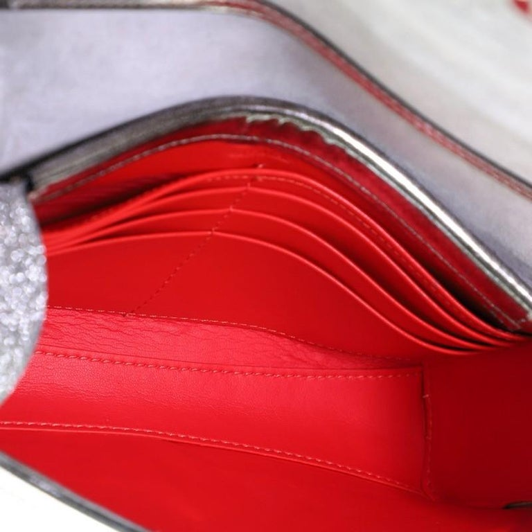 Christian Louboutin Rubylou Clutch Glitter Leather For Sale 1