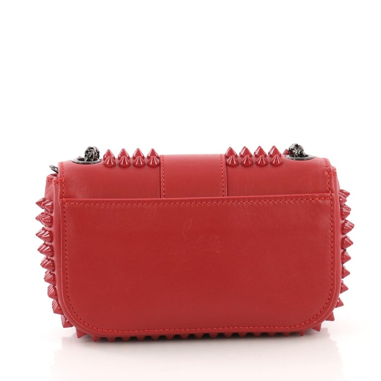 6c6f99d10ad Christian Louboutin Sweet Charity Crossbody Bag Spiked Leather Mini