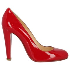 Christian Louboutin Woman Pumps Red Leather IT 36.5
