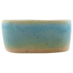 Christian Poulsen Unique Ceramic Bowl, Own Workshop