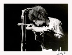 Jimi Hendrix Paris Olympia 1967, Printed Later.