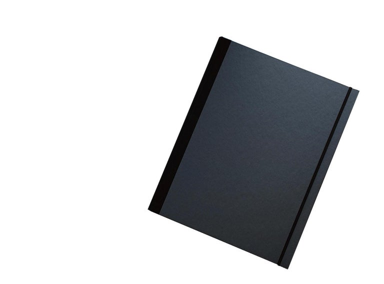 Creature I - photograph in classic archival artwork portfolio gift binder - Contemporary Photograph by Christian Stoll