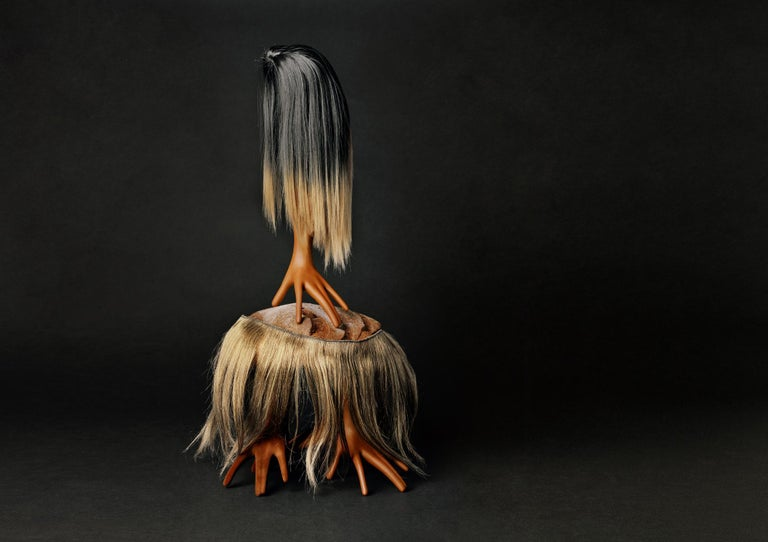 Creature III - limited edition photograph in archival portfolio gift binder - Photograph by Christian Stoll