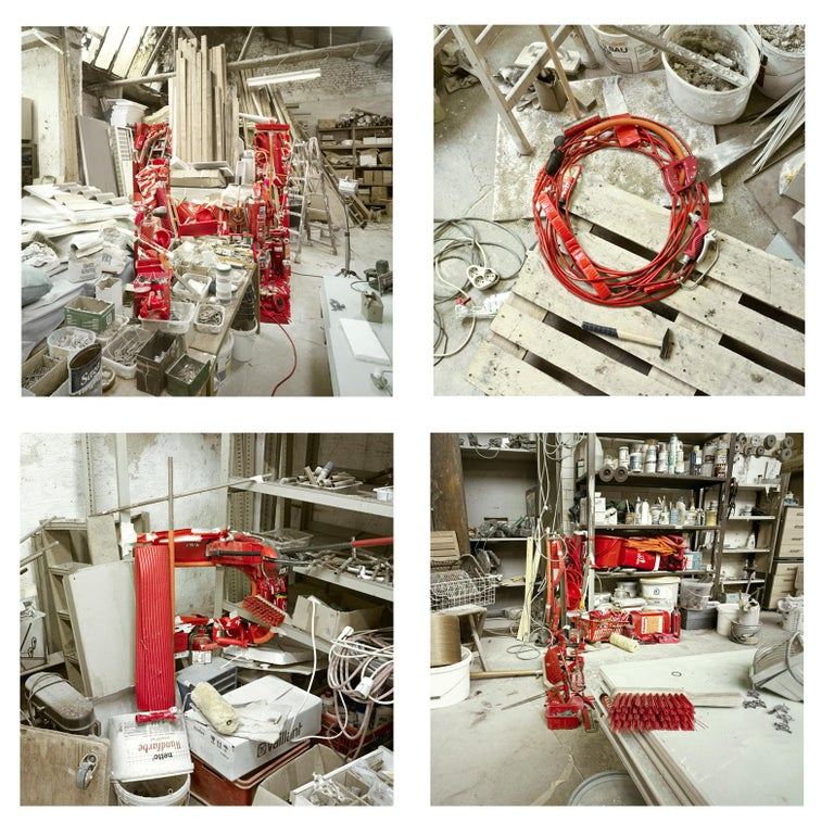 Christian Stoll Abstract Print - HOPE -  4 conceptual photographs spelling motivational word - framed
