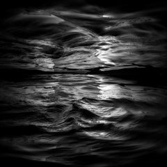 Wave II - large scale abstract photograph of water surface reflections