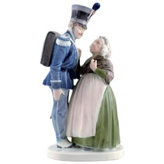 Christian Thomsen for Royal Copenhagen, Porcelain Figurine