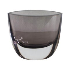 Christian von Sydow for Kosta Boda Smoked Glass Vase