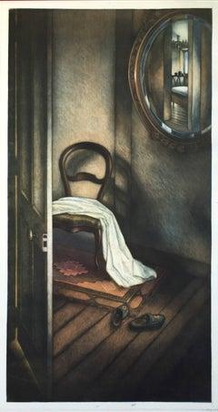 Regardez Indiscrete, mezzotint by Christian Wouter