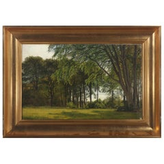 Christian Zacho A Summer Landscape, Signed and Dated Chr. Zacho 30. Juni 1869