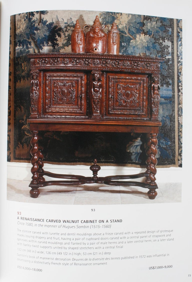 Christies April 2002 French Furniture & Decorative Arts, a & C Fink Collections For Sale 5