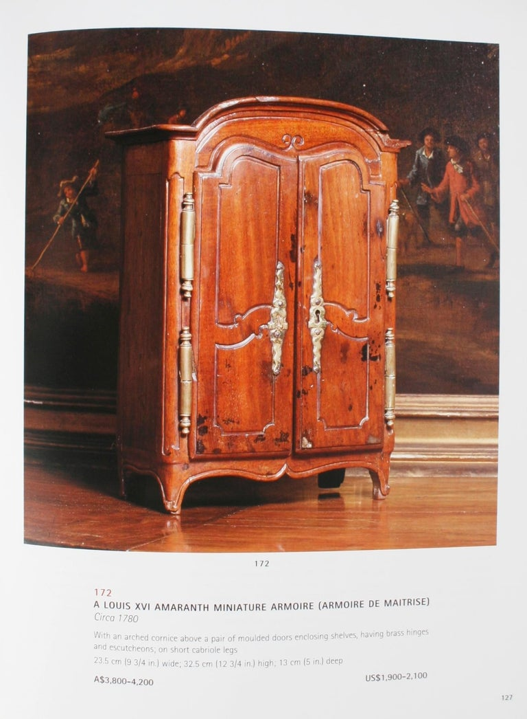 Christies April 2002 French Furniture & Decorative Arts, a & C Fink Collections For Sale 8