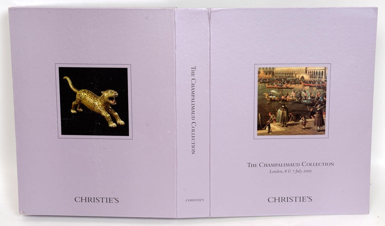 Christie's Champalimaud Collection London, 6 & 7 July 2005, First Edition For Sale 13