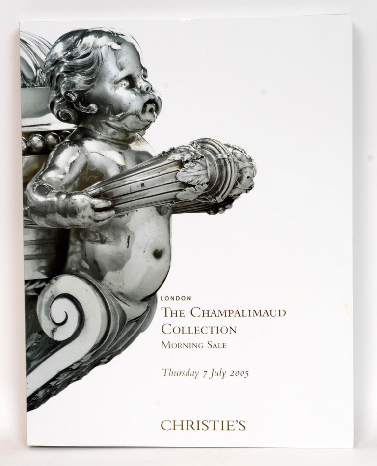 Christie's: The Champalimaud Collection: London, 6 & 7 July 2005. First Edition softcovers with slip-case. Consists of 2 oversize catalogs from the auction. The 2 catalogs and their slip case are in as new, unread, condition. These two beautifully