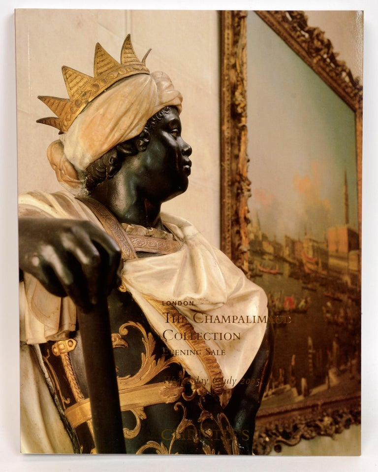 English Christie's Champalimaud Collection London, 6 & 7 July 2005, First Edition For Sale