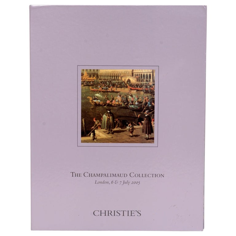 Christie's Champalimaud Collection London, 6 & 7 July 2005, First Edition For Sale